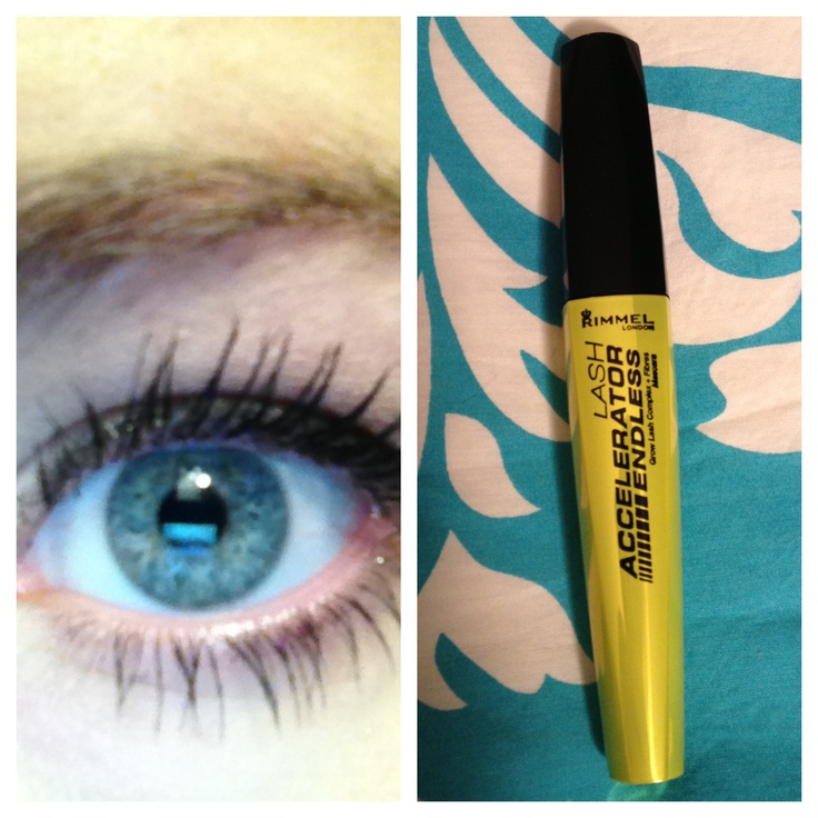 Rimmel Lash Accelerator Endless Mascara. After 30 days you are supposed to see your lashes growing fuller and longer!