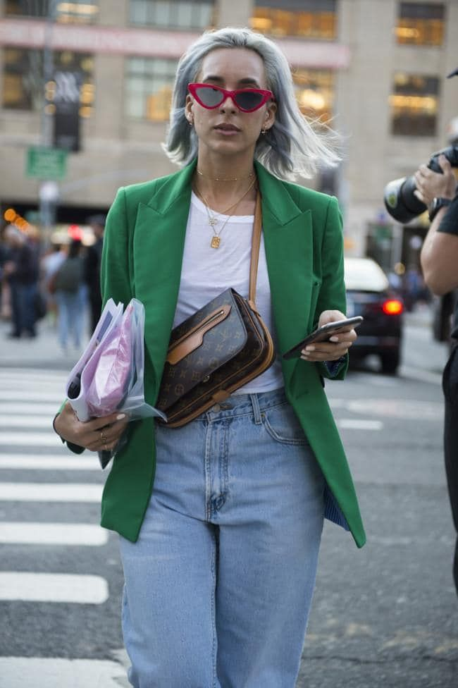 Street style from New York Fashion Week spring/summer '18