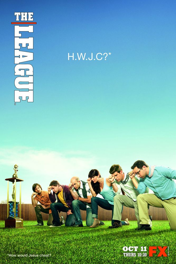 The League. Taco at the end!!! Hahaha Jonathan Lajoie  is the best part of the show