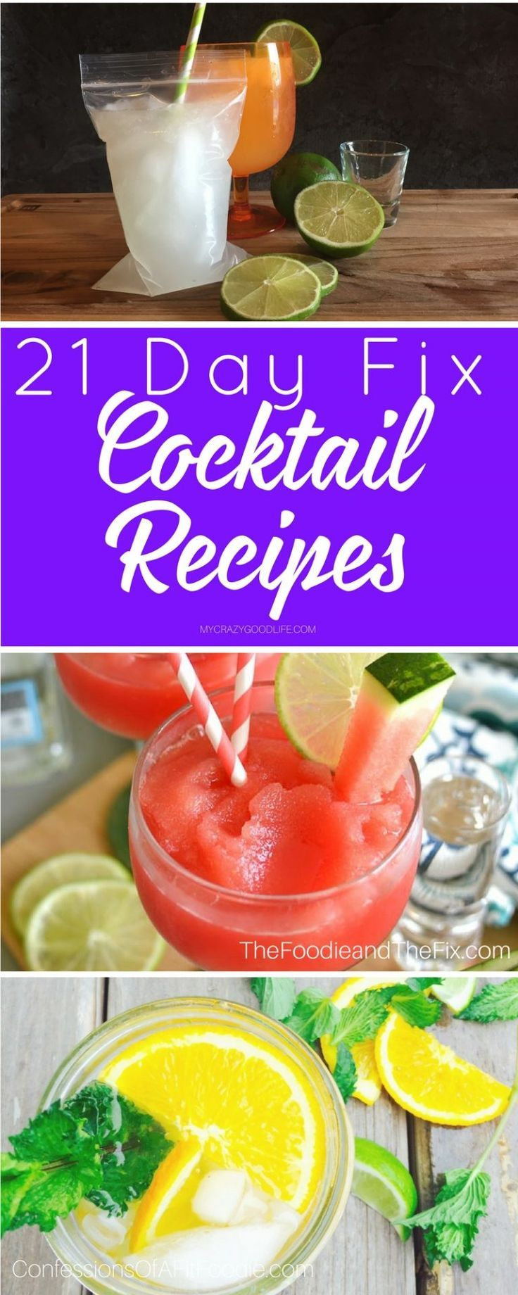 You don't have to skip out on the drinks to be part of the 21 day fix diet p…