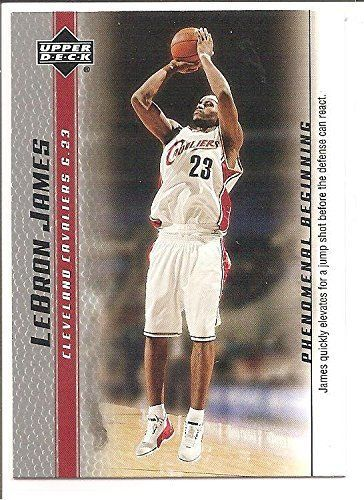 LeBron James Cleveland Cavaliers 2004-05 Upper Deck Phenomenal Beginning Basketball Card 3 >>> Check out the image by visiting the link.