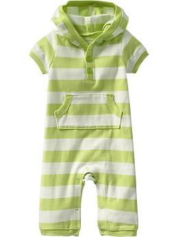 Lime green striped jumper