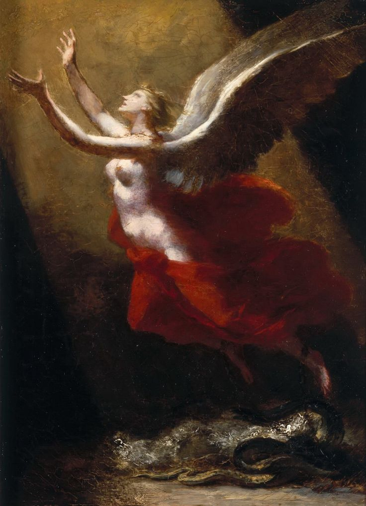 Pierre-paul Prud'hon - The soul ascends to heaven
