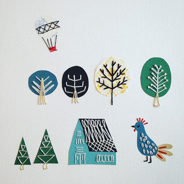 WEBSTA @ annastwutea - 『5つのステッチでできるannasの刺繍工房』(日本文芸社)の中から「北欧の街並み」これもお気に入りのぺージです♡実物は今開催中の出版イベント( @douxdimanche )でも飾っています。今日は、夕方在廊します☆.. #刺繍 #ハンドメイド #ハンドメイド #handicraft #handembroidery #handmade #needle #needlework #embroideryart #embroidery #手刺繍 #手芸 #手作り #вышивка #紙刺繍 #handcraft #てづくり #stitch #자수 #刺繡 #川畑杏奈 #annas #アンナス #broderie #handiwork #needlecraft #paperstitching #5つのステッチでできるannasの刺繍工房 #北欧 #北欧風