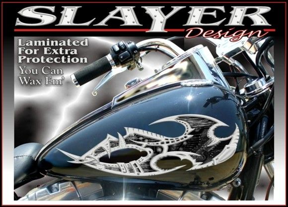 Motorcycle Tank Decals | Motorcycle Stickers | Motorcycle Decal Kits