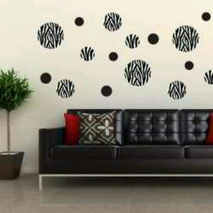 Love The Wall Decor Would Use It In My Bedroom Though Zebra Living