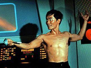 Hikaru Sulu - that is not a pretty  look!