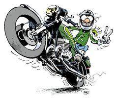 """Résultat de recherche d'images pour """"bon anniversaire motard humour""""   Anniversaire motard ..."""