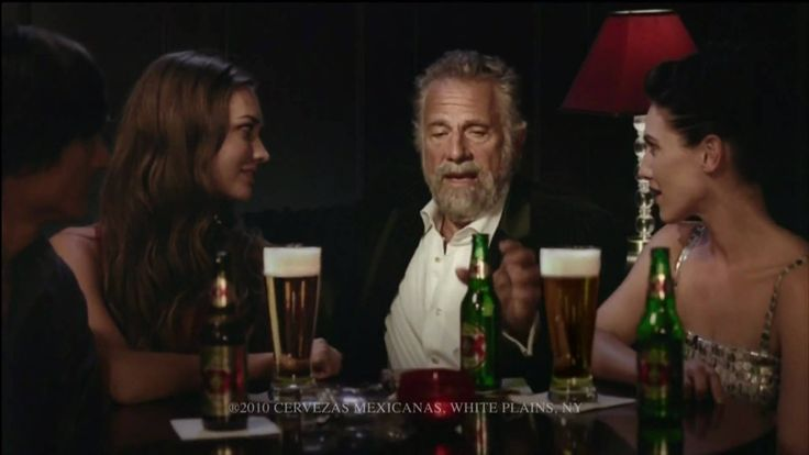 "In this ad, the concept of ELM is used, in respect to the peripheral route. ""The most interesting man in the world"" endorses Dos Equis as his beer of choice, without backing any of the beers properties like a traditional beer commercial of Samuel Adams, or Coors light. Instead of backing the ad with facts of the brewing process, Dos Equis has branded its marketing around a celebrity endorsement, with cues that are funny, entertaining, and persuasive."