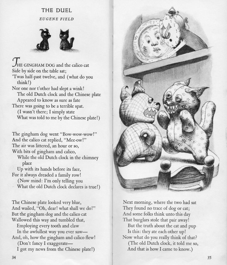Oh the Insanity Eugene field, Nursery rhymes poems