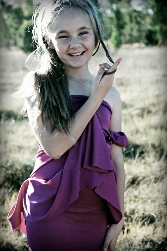 Fun & Games purple Kids Dress Azel, Nadia Uys