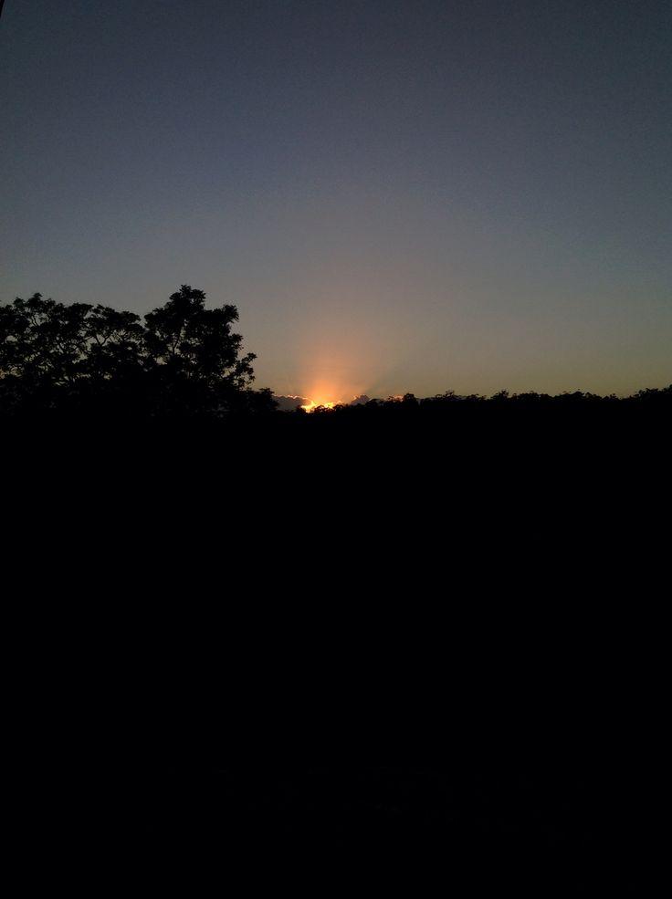 Sunrise at Bago 8/1/2015