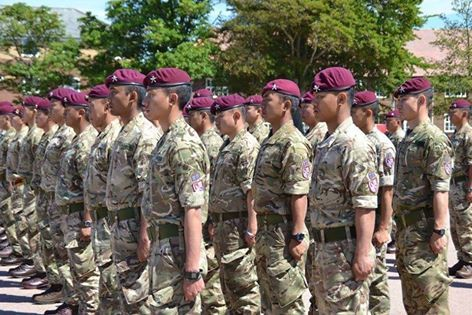 2nd Battalion The Royal Gurkha Rifles subordination to 16 Air Assualt