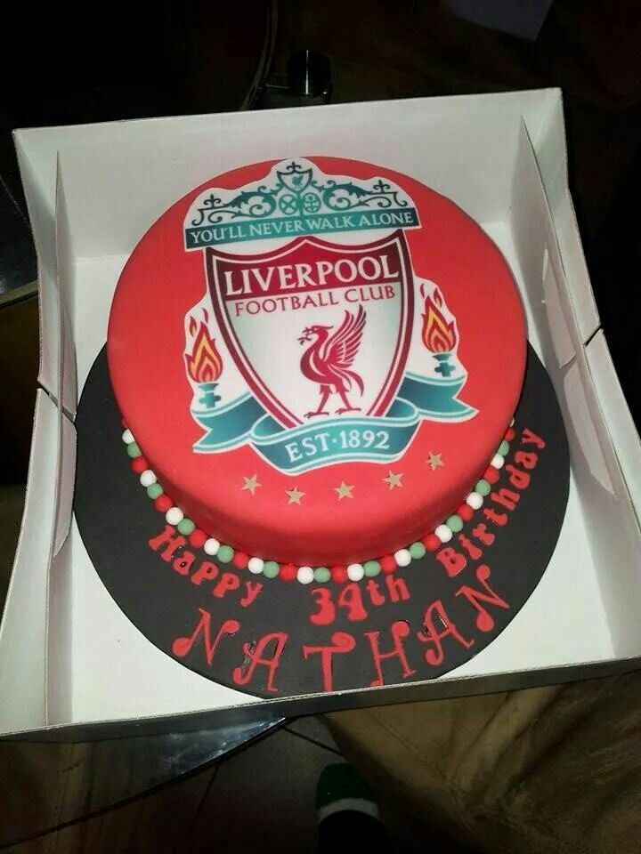 Liverpool Cake Football Cakes Pinterest Cakes And