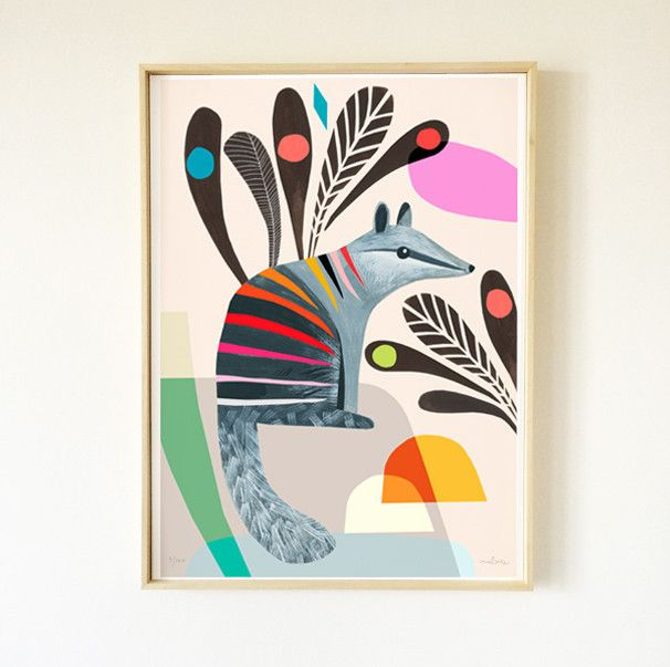 Numbat Limited Edition Art Print