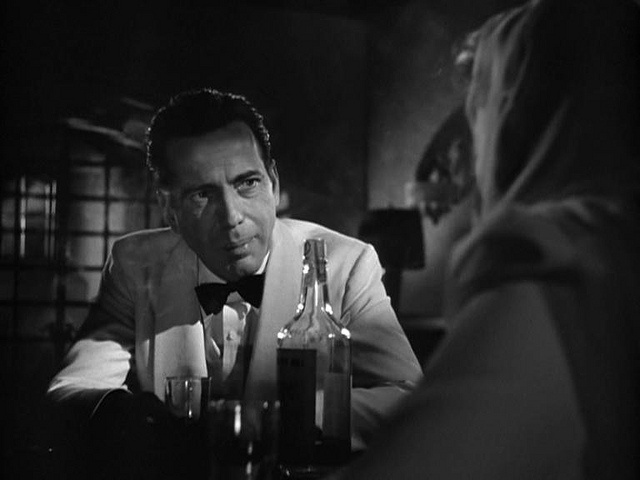 an analysis of the film casablanca He only admits to seeking refuge in casablanca to  [it isn't revealed publicly until much later on in the film that victor laszlo and the.