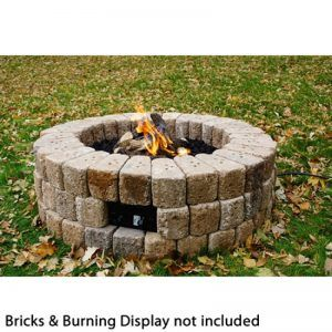"""Diy Outdoor Gas Fire Pit Kits Round Diy Gas Fire Pit Kit   38"""" 