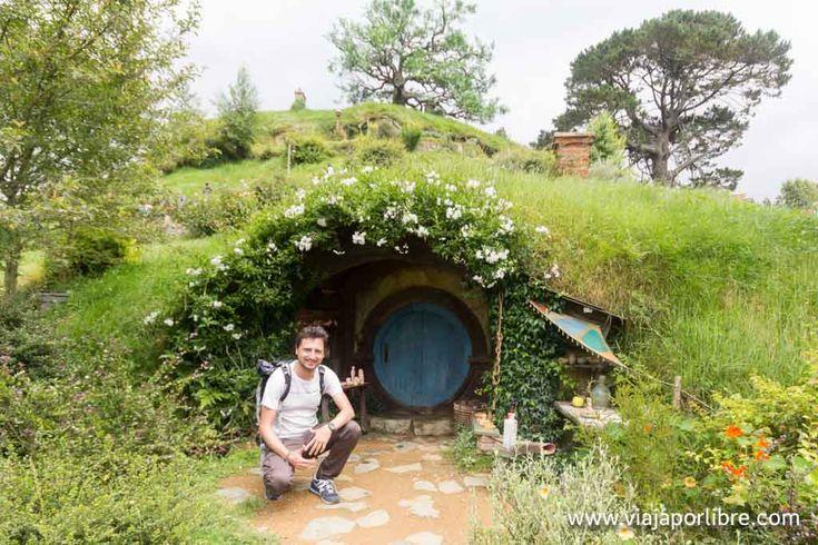 Hobbiton Movie Set. Visita al poblado de los Hobbits