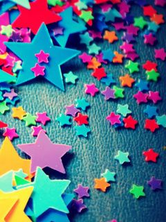Download Free Colorful Starlets Mobile Wallpaper Contributed By Coleboooks Is Uploaded