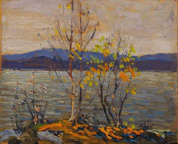 Tom Thomson - Spring, Algonquin Park, Spring, 1914 8.5 x 10.5 Oil on panel