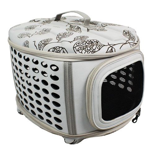 Deluxe Retreat Foldable Pet House - Dog/Cat Crate