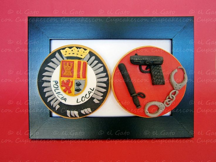 Galletas policía / Policeman cookies
