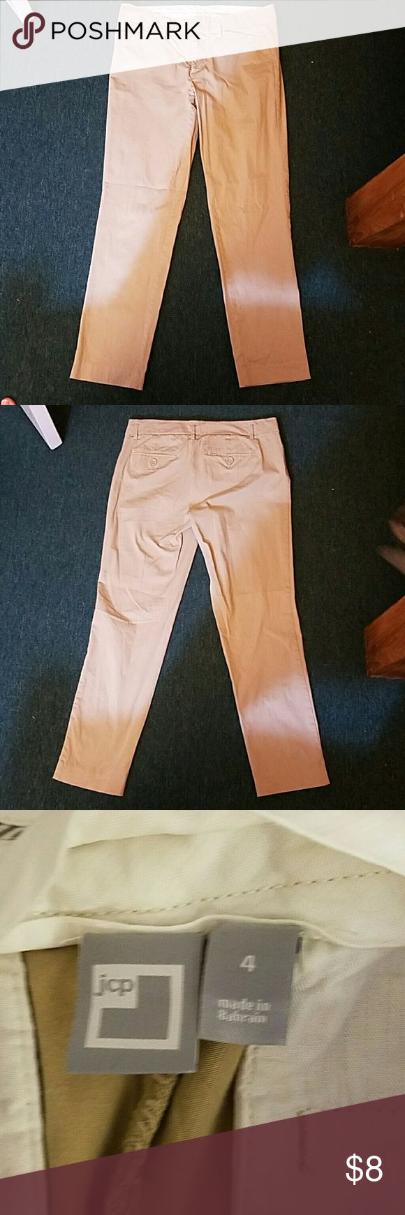 Womens khakis They are brand new Womens slim fit khakis jcpenney Pants Skinny
