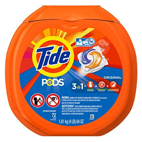 #2: Tide PODS Laundry Detergent Original 72 Count