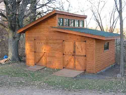 """""""How To Build An beautiful 18×12 Garden Shed"""" Shed? I'm thinking #tinyhouse with attached garage. :)"""