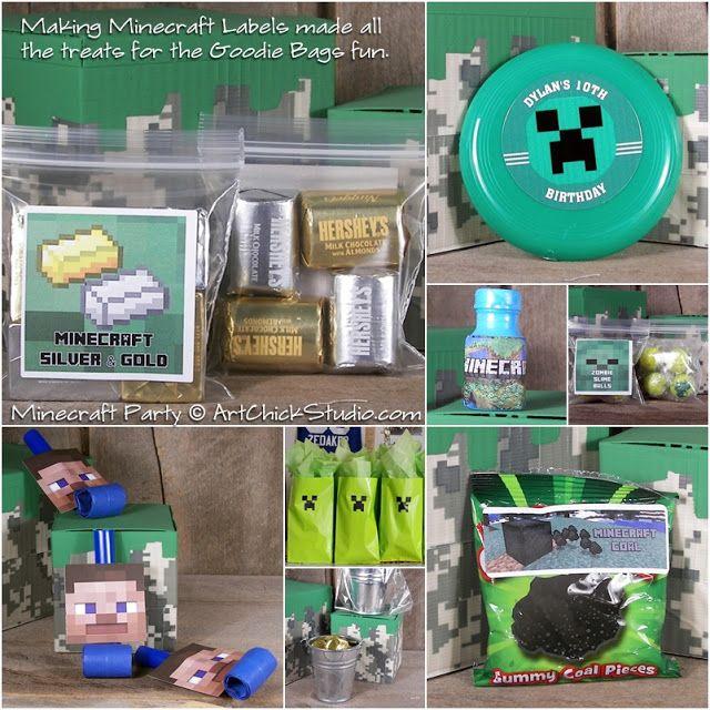 Best 25+ Minecraft party bags ideas on Pinterest | Mind craft ...