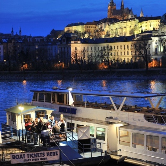 jazz on a boat down the Vitava river? OK!