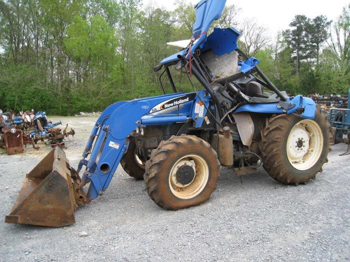New Holland Tractor Manuals : This tractor has been dismantled for new holland tl