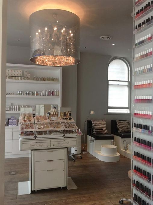Zen Spa beauty and product room, Jane Iredale, Jessica, Dermaquest, Biologique Recherche, and Nimue to name a few!  www.facebook.com/ZenSpaLondon