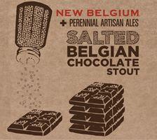 Salted Belgian Chocolate Stout... Tears of joy!!!