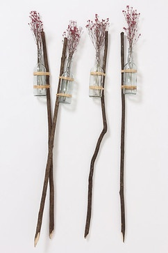 Bottled Garden Stakes - eclectic - outdoor products - Anthropologie
