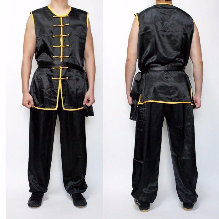 Wushu Nanquan Basic KungFu uniform suit Uniforms Kung Fu Martial Arts Black #Unbranded