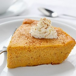 Crustless Pumpkin Pie - oh i def need to make this i hate crust so its such a waist for me to make it.