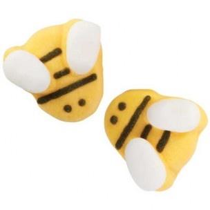 Deze bijen icing decoraties van Wilton zijn perfect voor cupcakes, koekjes en ijs!