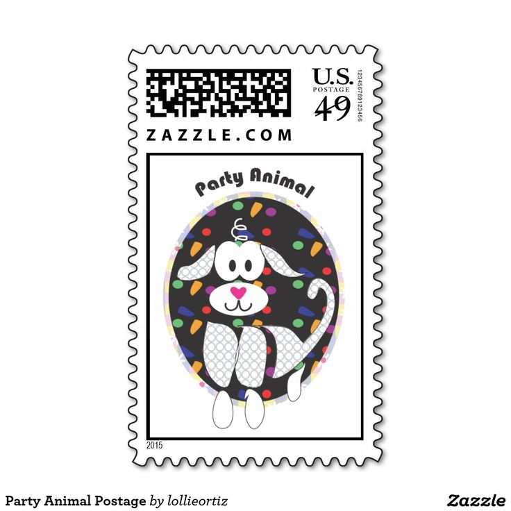 Party Animal Postage