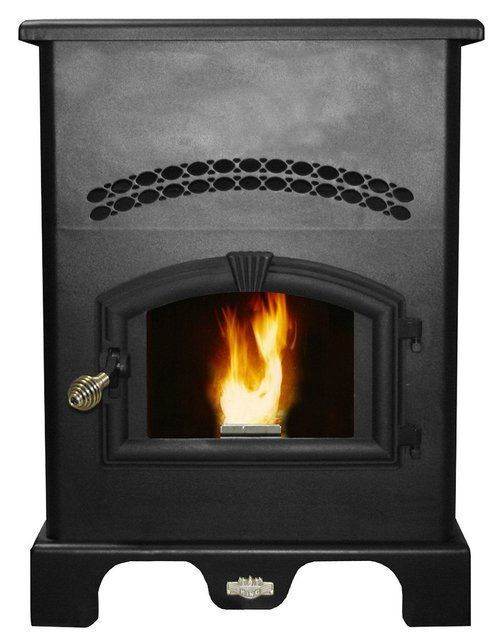 US Stove 5500 King Pellet Burner With Igniter, 140 Lb Hopper