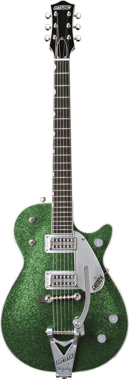 Gretsch Green Sparkle Jet