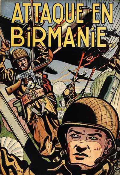 Buck Danny -6- Attaque en Birmanie - 1952