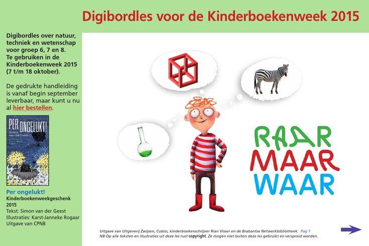 ISSUU - Kinderboekenweek 2015 digibordles bovenbouw by Uitgeverij Zwijsen