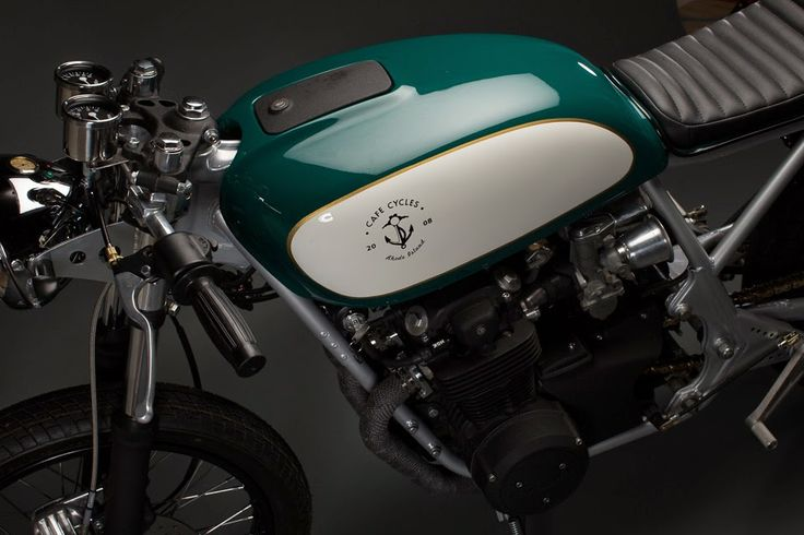 Green White 550 - RocketGarage - Cafe Racer Magazine
