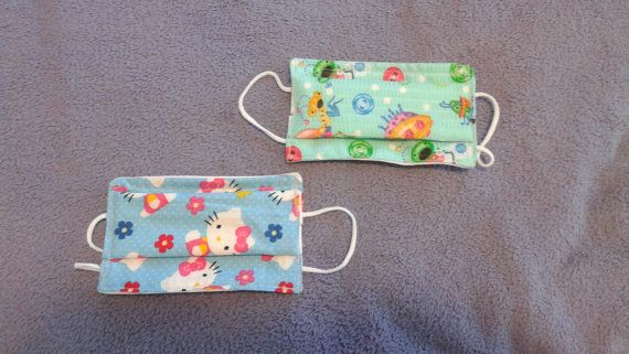Handmade Child Surgical Face Mask Fabric of by ...