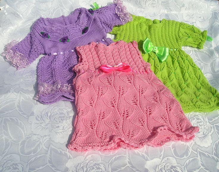 платье вязаное для малышки,платье ,платье для девочки,продаю платье вязаное для малышки