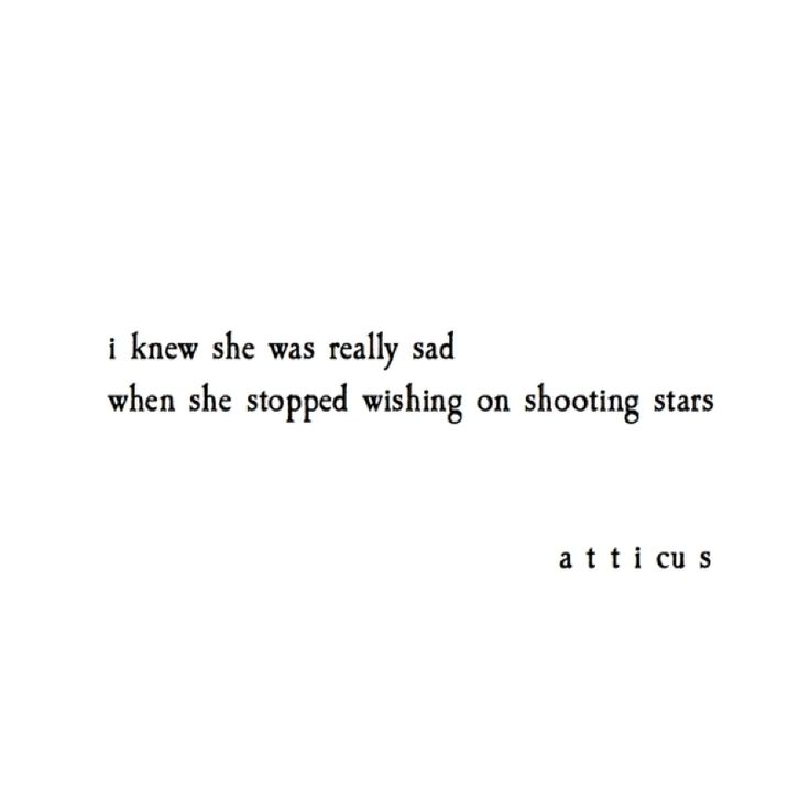 'Shooting Stars' Prints available now on Etsy. Link in bio. @atticuspoetry #atticuspoetry