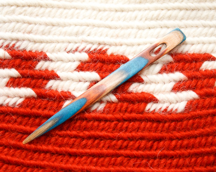 Shy Red Fox: Having Fun Making Nalbinding Needles