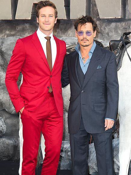 TRUE COLORS photo   Armie Hammer, Johnny Depp