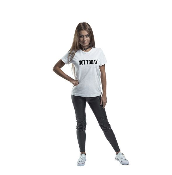 T-Shirts & Jumpers – T-shirt NOT TODAY – a unique product by MoodyMood on DaWanda
